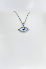 Tiara Fine Jewelry Evil Eye Necklace - Front full body