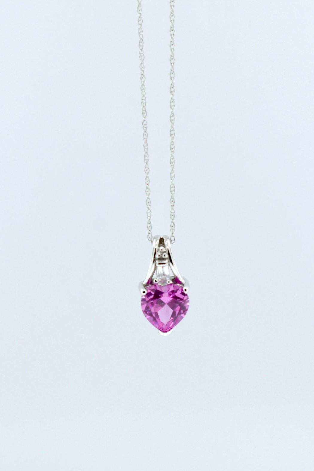 Tiara Fine Jewelry Heart Necklace - Front Full Image