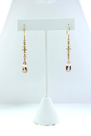 Tiara Fine Jewelry Morganite Diamond Earrings - Product Mini Image