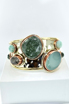 Tiara Fine Jewelry Natural Gemstone Cuff - Product List Image