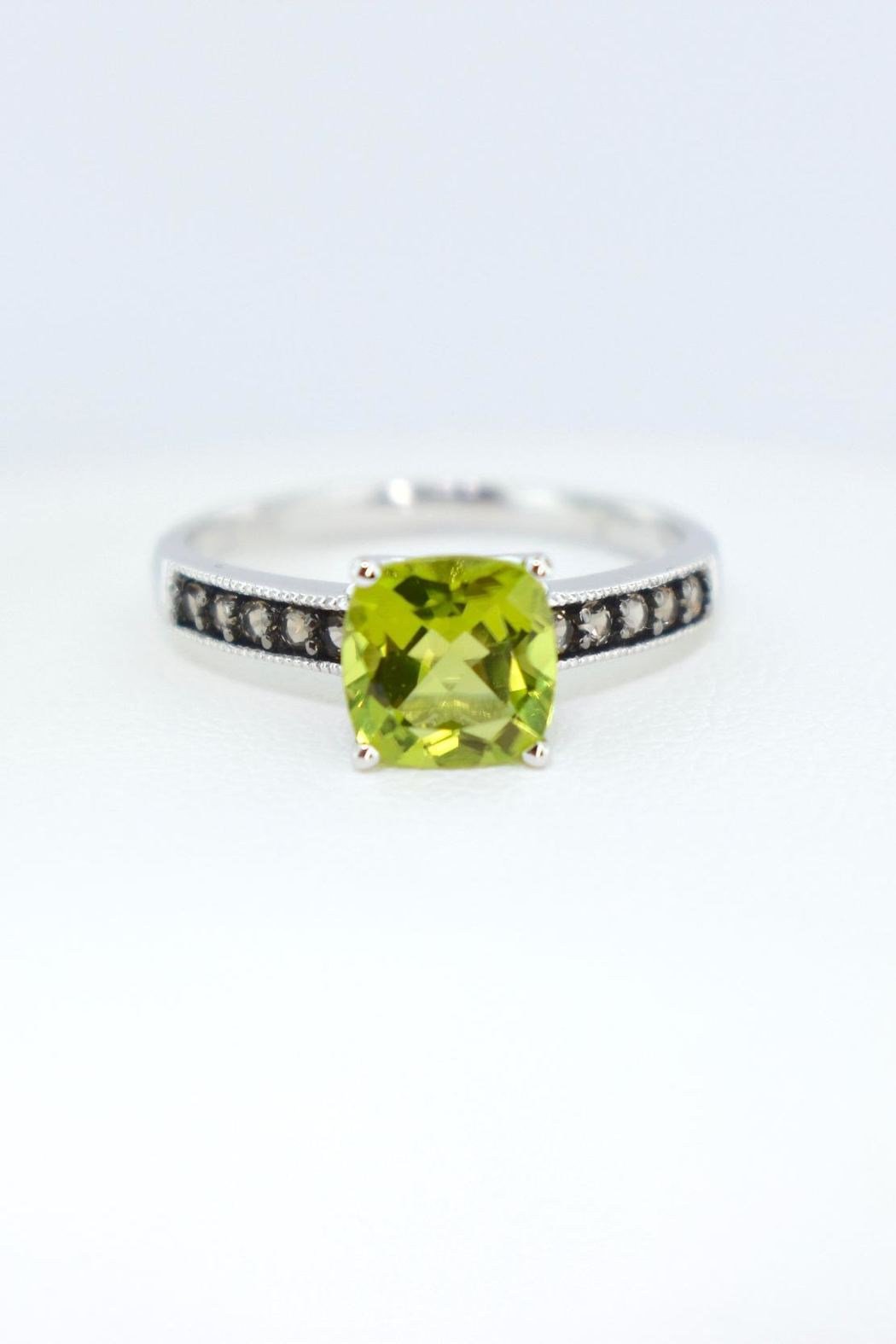 Tiara Fine Jewelry Peridot Quartz Ring - Front Cropped Image