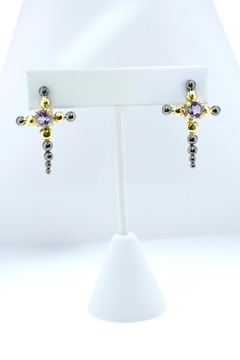 Shoptiques Product: Pink Amethyst Earrings