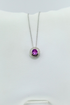 Tiara Fine Jewelry Pink Sapphire Necklace - Product List Image
