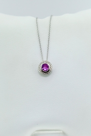 Tiara Fine Jewelry Pink Sapphire Necklace - Product Mini Image