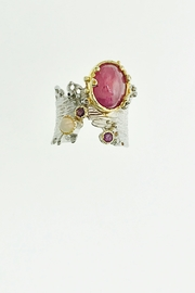 Tiara Fine Jewelry Ruby Opal Ring - Front cropped