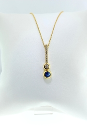 Tiara Fine Jewelry Sapphire Necklace - Product Mini Image