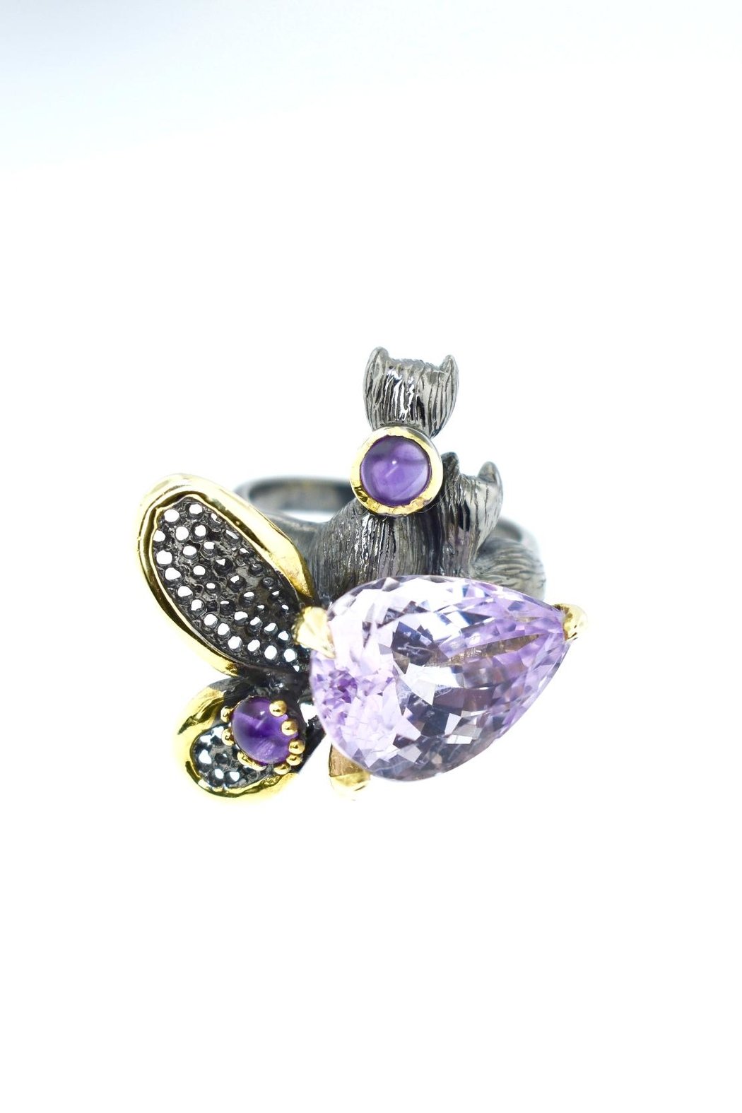 Tiara Fine Jewelry Silver Amethyst Ring - Main Image