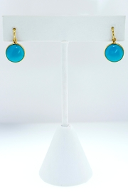 Tiara Fine Jewelry Turquoise Dangle Earrings - Product Mini Image