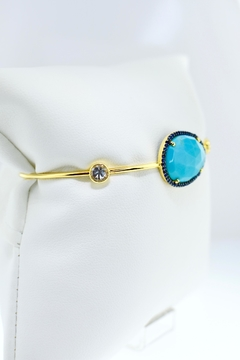 Shoptiques Product: Turquoise Sapphire Cuff