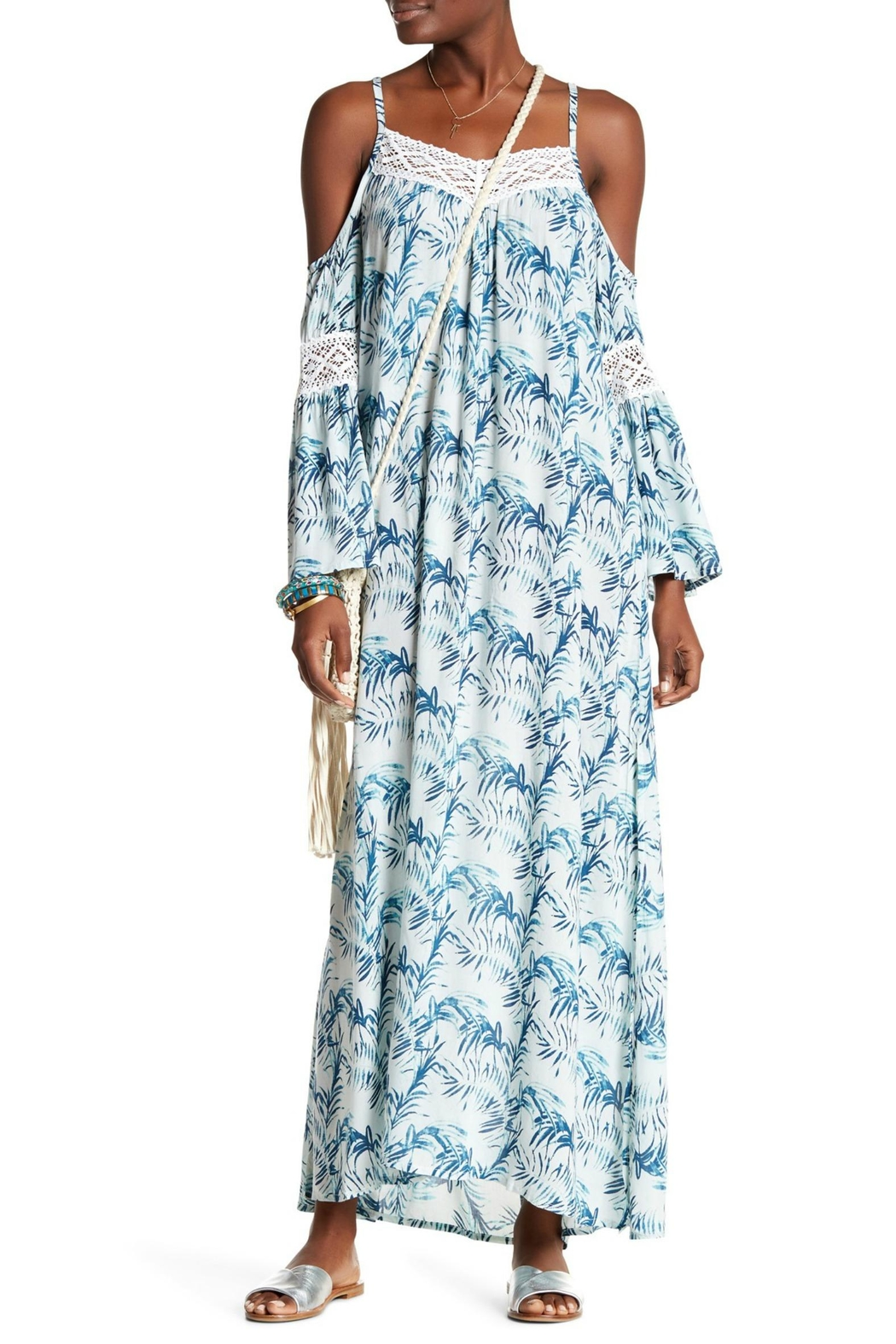 Tiare Hawaii Palm Maxi Dress - Main Image