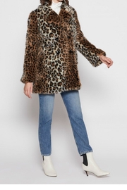 Joie Tiaret Leopard Coat - Product Mini Image