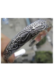 Twisted Designs Tibetan Silver Cuff-Bracelet - Product Mini Image