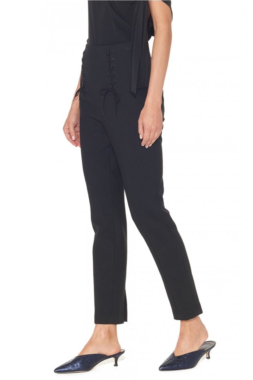 Tibi Anson Tie Pant - Side Cropped Image