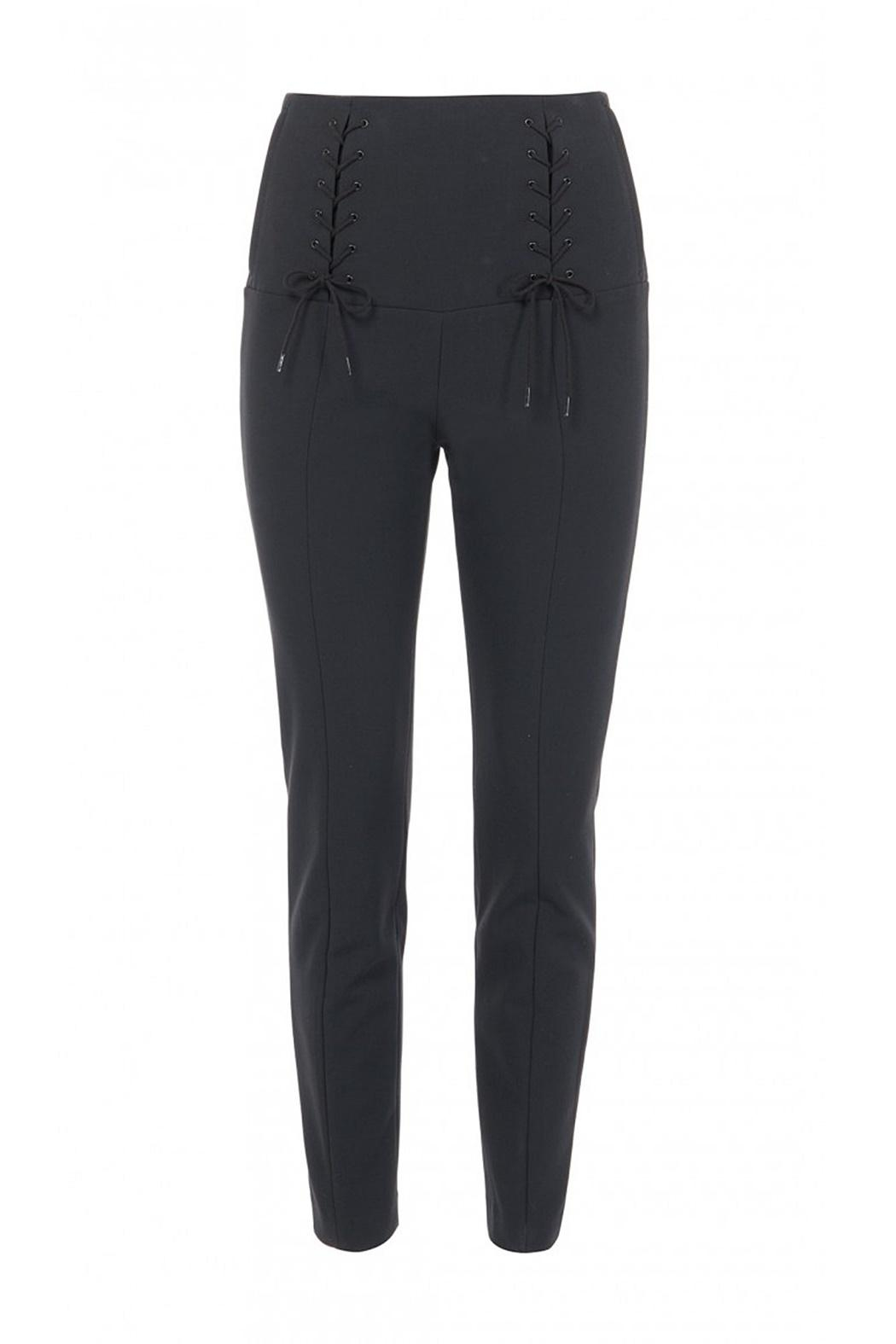 Tibi Anson Tie Pant - Front Cropped Image