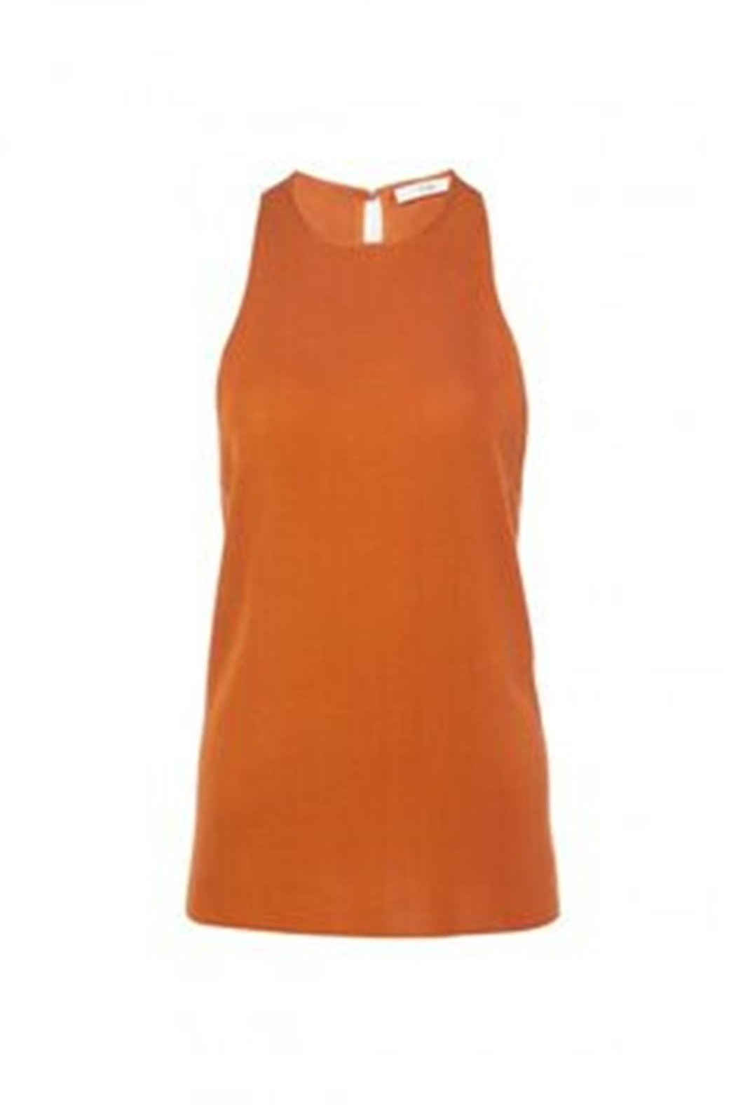Tibi Claire Sweater Tank - Back Cropped Image