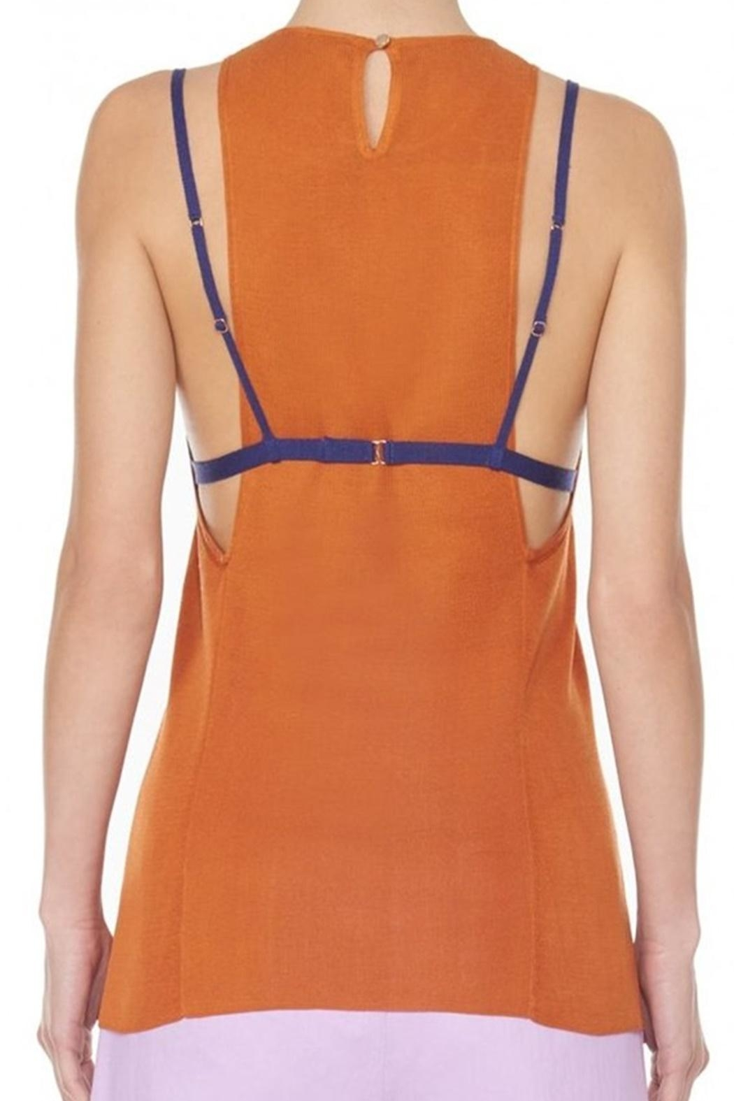 Tibi Claire Sweater Tank - Front Full Image