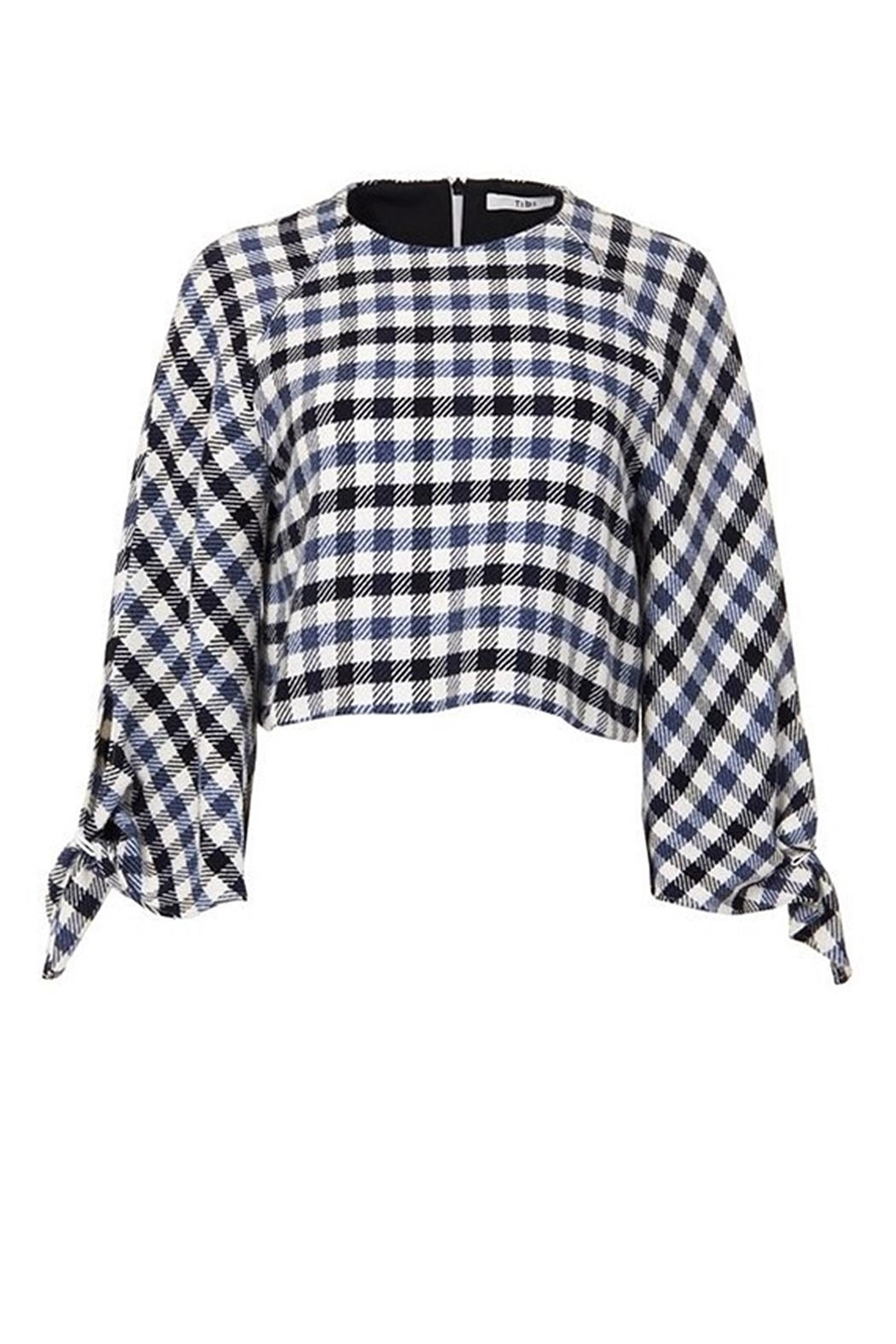 Tibi Fairfax Gingham Top - Main Image