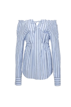 Tibi Garcon Stripe Top - Alternate List Image