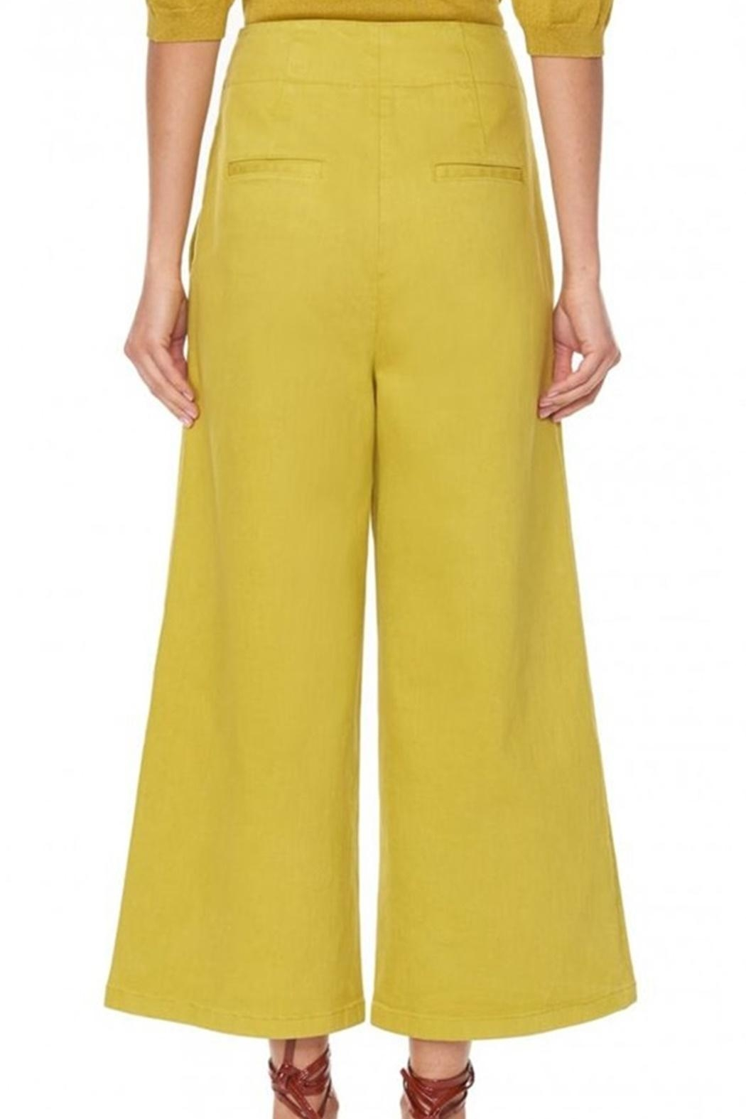 Tibi Garment Dyed Jean - Back Cropped Image