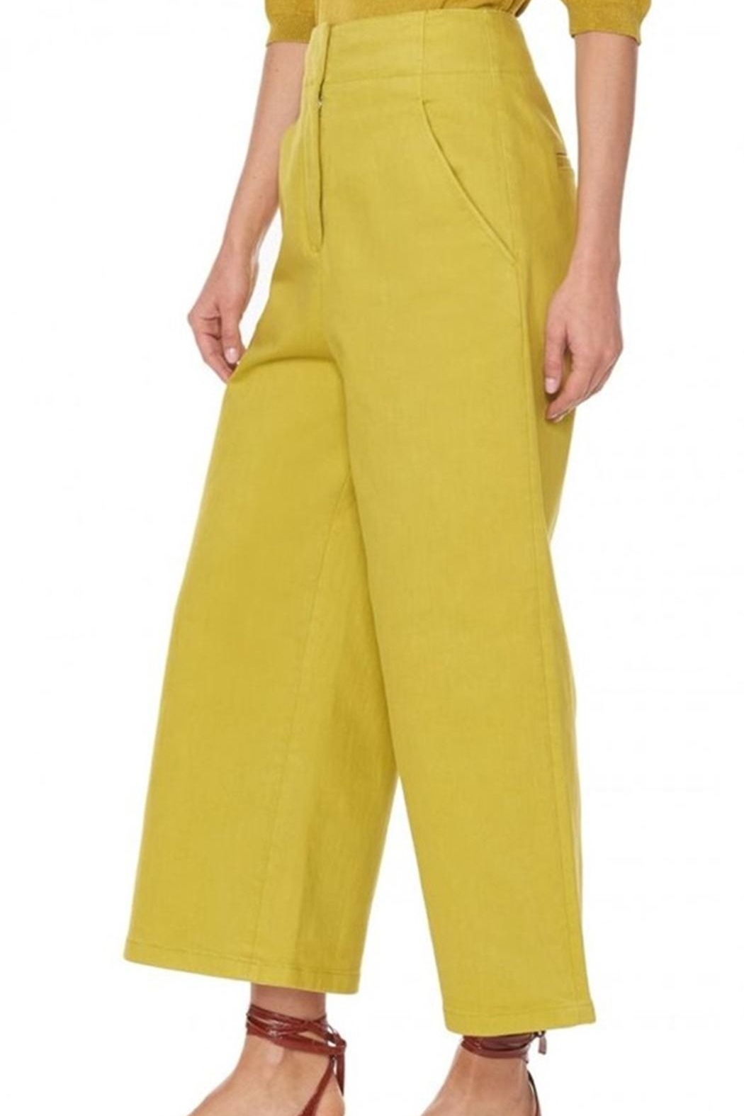 Tibi Garment Dyed Jean - Side Cropped Image