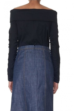 Tibi Mercerized Knit Top - Alternate List Image