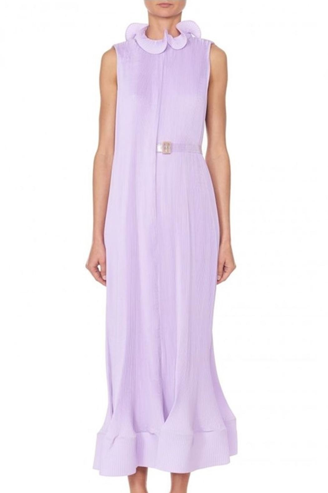 Tibi Pleating Sleeveless Dress - Main Image