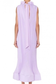 Tibi Pleating Sleeveless Dress - Side cropped