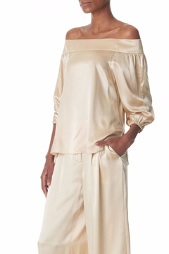 Shoptiques Product: Champagne Silk Top