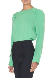 Tibi Savanna Crepe Sweatshirt - Product Mini Image