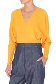 Tibi Savanna V-Neck Blouse - Product Mini Image
