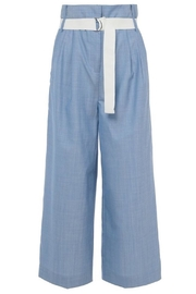 Tibi Serge Suiting Pant - Back cropped