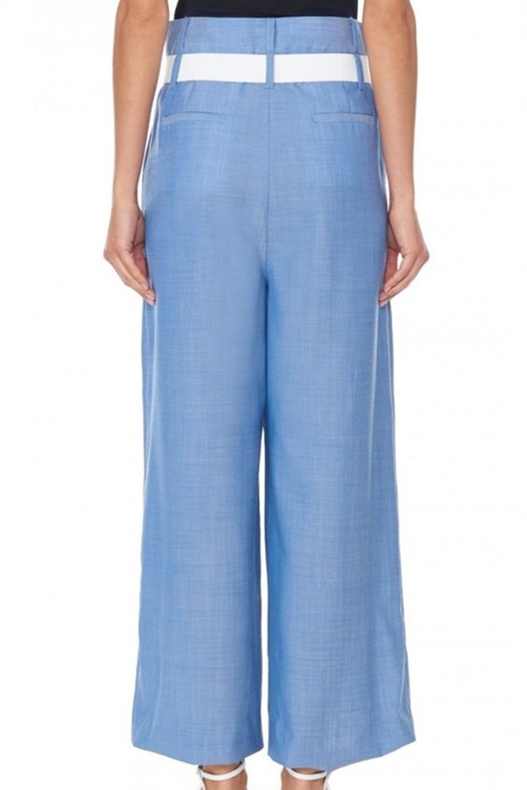 Tibi Serge Suiting Pant - Front Full Image