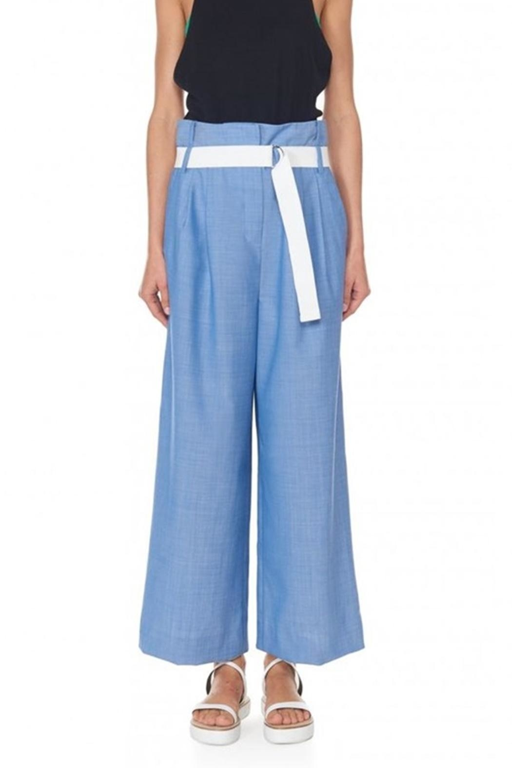 Tibi Serge Suiting Pant - Side Cropped Image