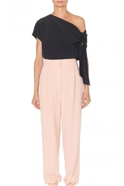 Tibi Silk Asymmetrical Top - Front full body