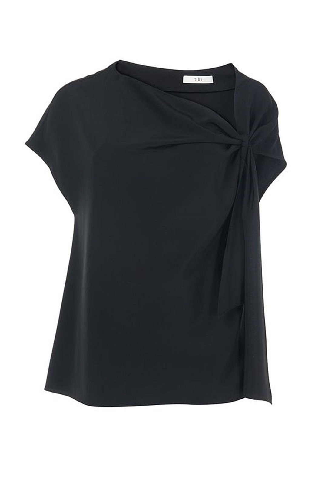 Tibi Silk Asymmetrical Top - Main Image