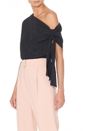 Tibi Silk Asymmetrical Top - Side cropped