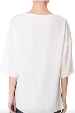 Shoptiques Product: Silk Baseball Tee