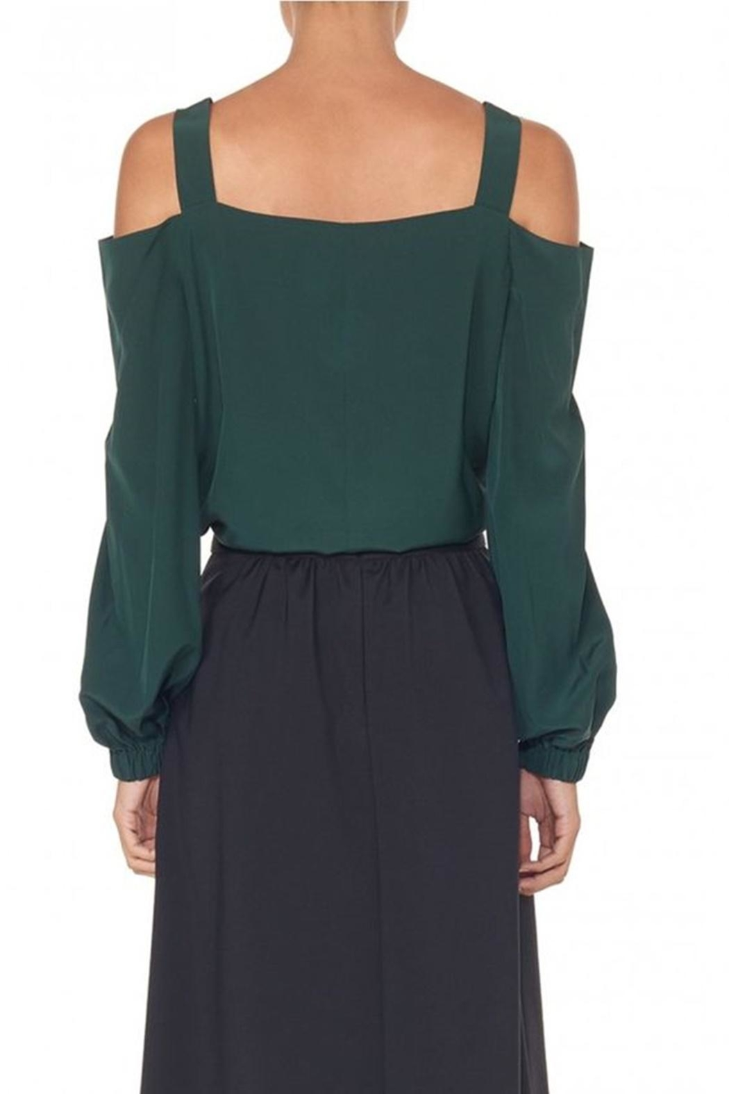 Tibi Silk Strappy Tunic - Back Cropped Image