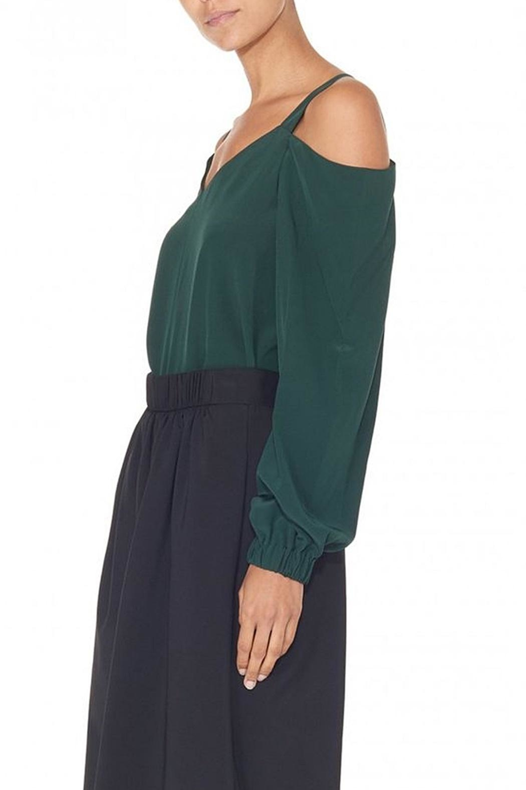 Tibi Silk Strappy Tunic - Side Cropped Image
