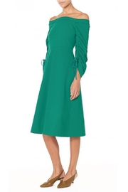Tibi Stretch Green Dress - Product Mini Image