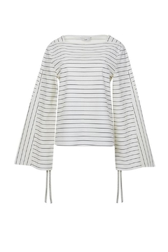 Tibi Striped Shirting Top - Product List Image