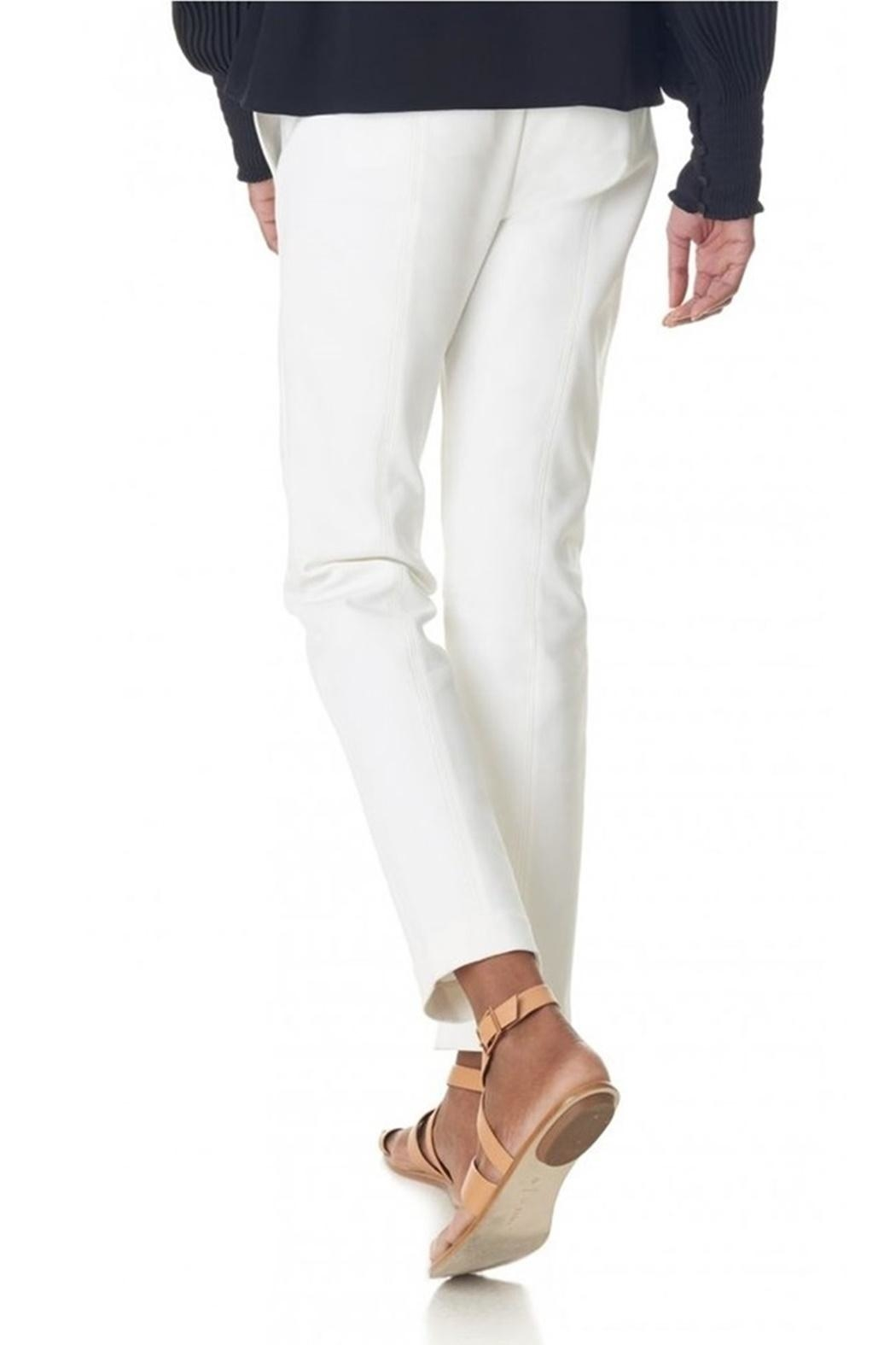 Tibi Urban Snap Pants - Back Cropped Image