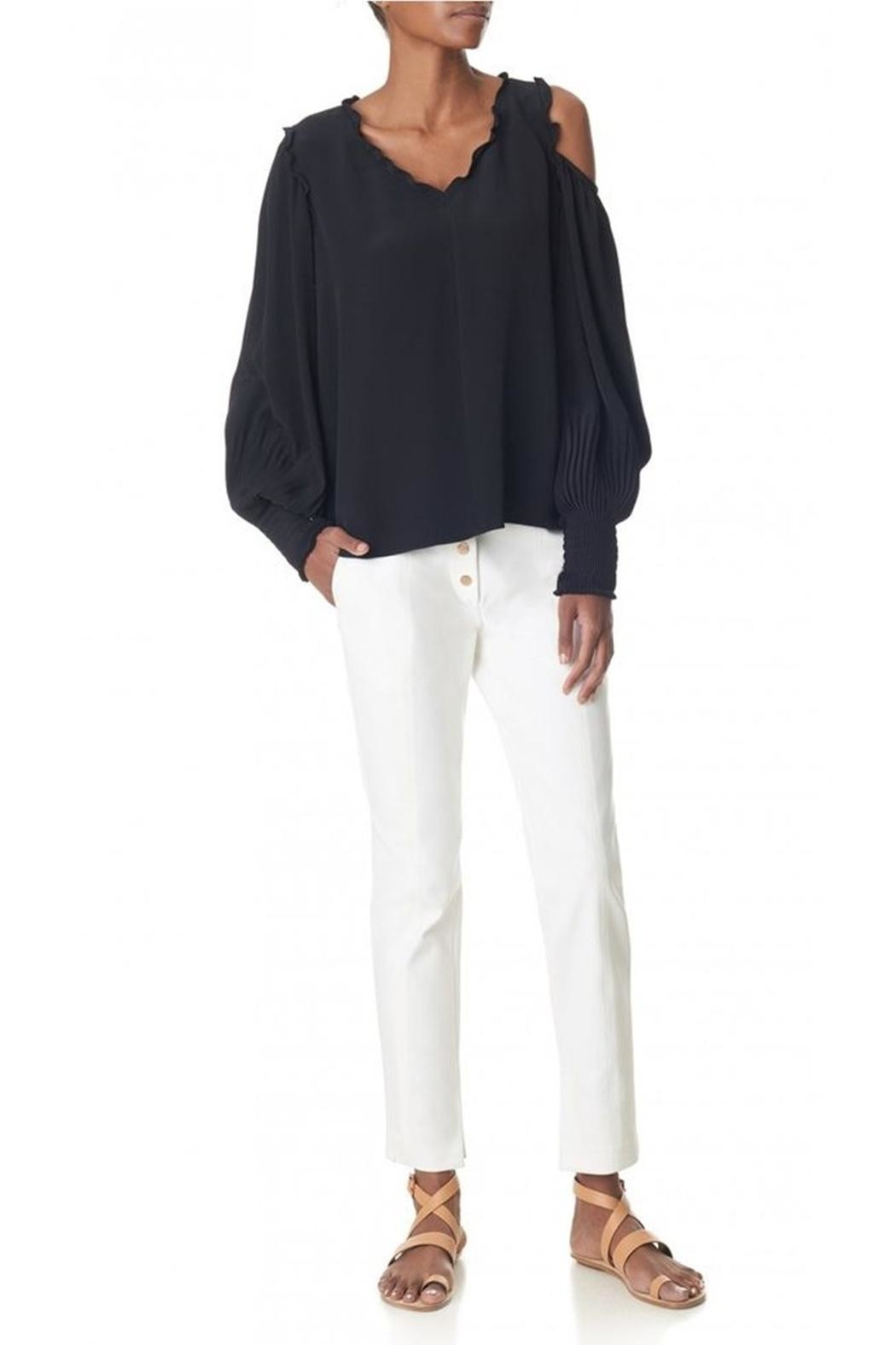 Tibi Urban Snap Pants - Front Full Image