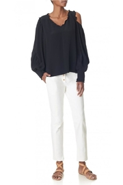 Tibi Urban Snap Pants - Front full body