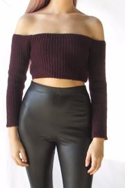 TIC:TOC Crop Ots Sweater - Front full body