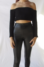 TIC:TOC Crop Ots Sweater - Front cropped