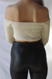 TIC:TOC Crop Ots Sweater - Side cropped