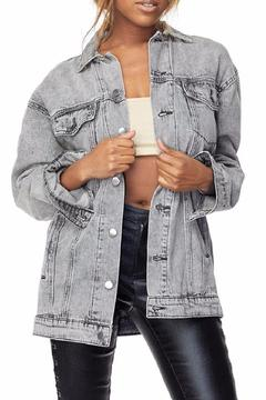 Shoptiques Product: Grey Denim Jacket