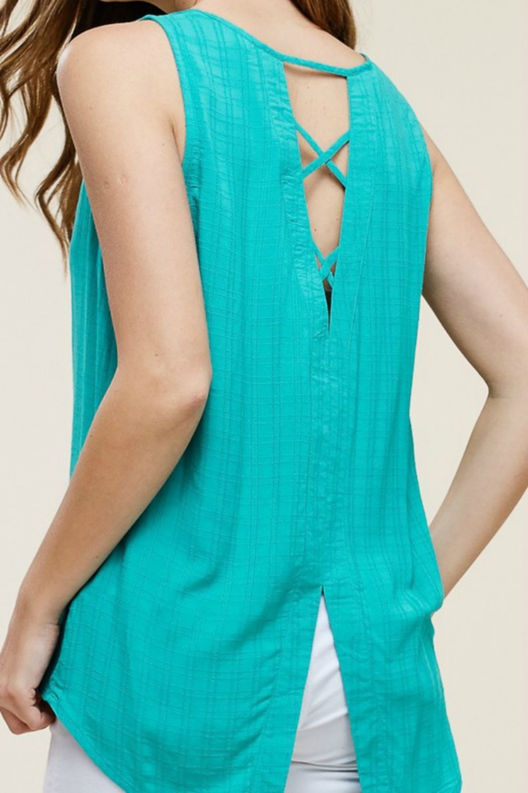 Staccato Tic Toc Tank - Back Cropped Image