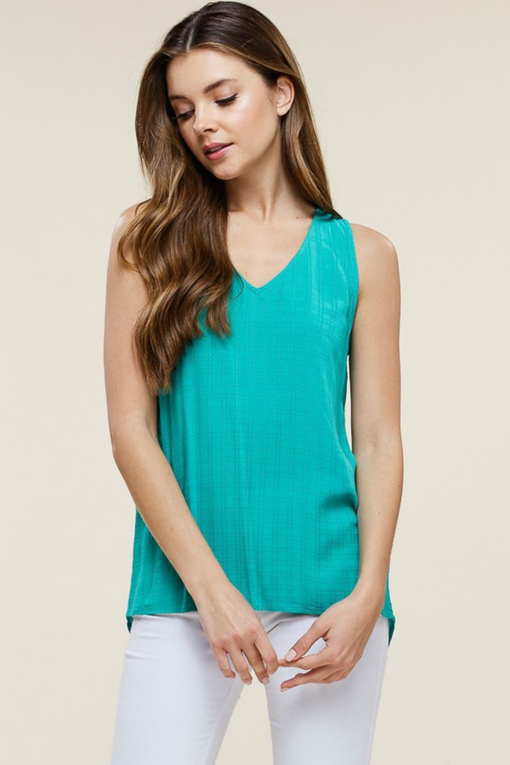 Staccato Tic Toc Tank - Side Cropped Image